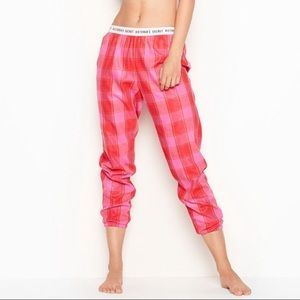 Victoria's Secret Flannel Jogger